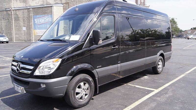 14 Pax Sprinter Van